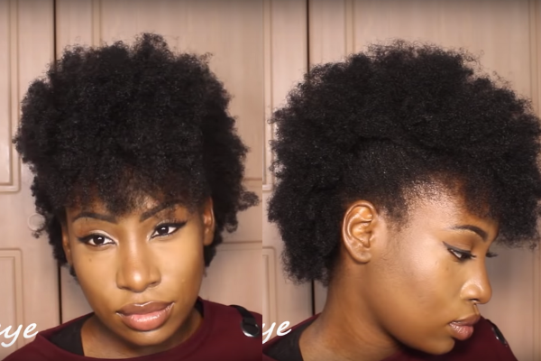 hairstyles for 4c short hair
