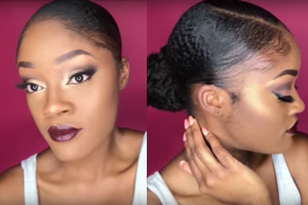 protective hairstyles for short natural 4c hair